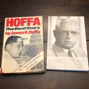 Other - Bundle of 2 books Teamsters & Hoffa.